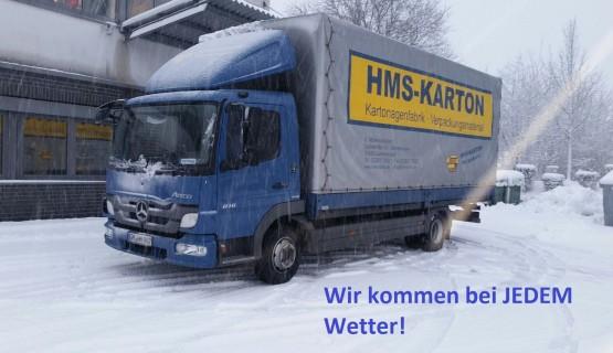 LKW im Schnee BEI JEDEM WETTER